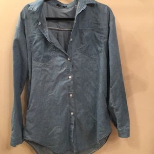 Jean shirt button down